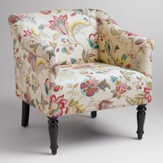 I wonder if this would look good in our living room.... Charlotte Chair | World Market