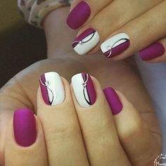 Wedding Nails For Bride, Bride Nails, Wedding Nails Design, Bling Wedding, Rose Wedding, French Wedding, Wedding Pins, Ivory Wedding, Purple Wedding