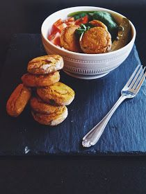Annie's Hungry: Baked Sweet Potato Falafel
