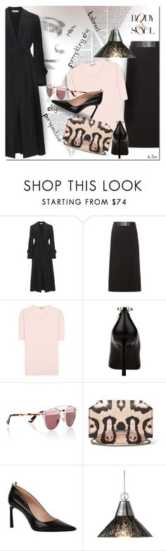 """TOM FORD, Wool Midi Skirt"" by deneve ❤ liked on Polyvore featuring STELLA McCARTNEY, Tom Ford, Bottega Veneta, Lanvin, Christian Dior and Givenchy"