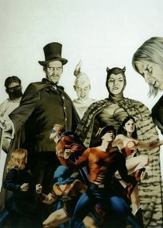 Flash and JSA vs Injustice Society by John Watson