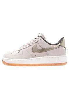 AIR FORCE 1 '07 PREMIUM - Sneakers laag - string/metallic gold grain