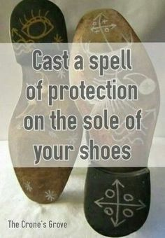 Witch Tip!You can also make knots in your laces and create a protection spell every time you tie your shoes. I created this simple little spell when I bought some new shoes and had to lace them. With...