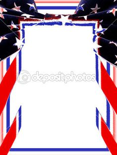 memorial day page borders