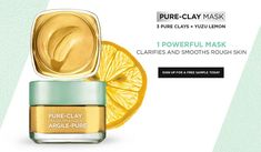 Register to receive L'Oréal Pureclay sample Loreal Pure Clay Mask, Free Baby Samples, Special Makeup, Clay Masks, Free Baby Stuff, Loreal Paris, Hair Care, Hair Color, Pure Products