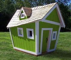I would love to have a Crooked house for Addie when she gets a little older!