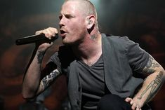 Corey Taylor after years of Slipknot/Stone Sour and now finally Sound City!