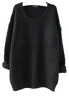 Women Oversized Knitted Sweater Batwing Sleeve Tops Loose... https://www.amazon.com/dp/B00QEQIRG8/ref=cm_sw_r_pi_dp_x_NH48xb0W3QQT3