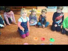 "Zabawa do piosenki, pt.: "" Kolorowy deszcz "" - YouTube Circle Time, Montessori, Crafts For Kids, Preschool, Family Guy, Nursery, Teaching, Activities, Education"