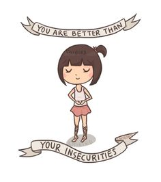 Chibird #cute #inspirational #insecurity #self #esteem #body #image #girl #jacqueline