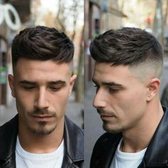 Mens Hairstyles With Beard, Cool Hairstyles For Men, Boy Hairstyles, Haircuts For Men, Beard Styles For Men, Hair And Beard Styles, Hair Styles, Gents Hair Style, Faded Hair