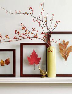 Good fall decor ideas and links