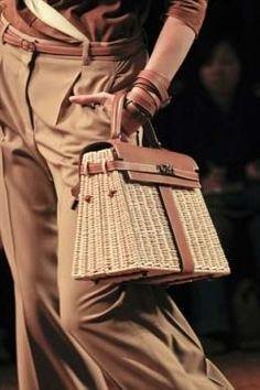 Hermes sfilata bag