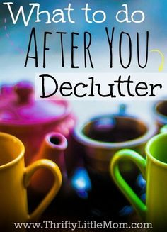 What to do after you declutter? From donating to putting extra cash in pocket, check out this post for ideas as you begin your household clean out!