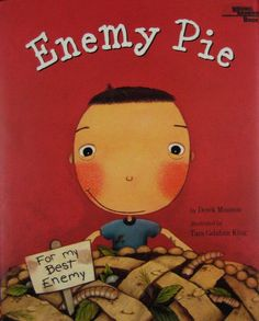 An interactive read aloud lesson plan for the book Enemy Pie by: Derek Munson. This lesson plan focuses on the strategy of making inferences. This Is A Book, The Book, Books About Kindness, Making Predictions, Mentor Texts, Mentor Sentences, Reading Rainbow, Character Education, Teaching Character