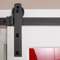 Barn Door Hardware Straight Edge