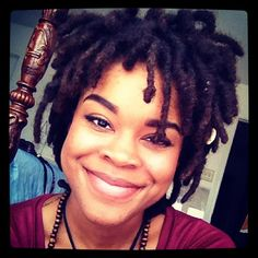 I love LUHV luv locs with personality!