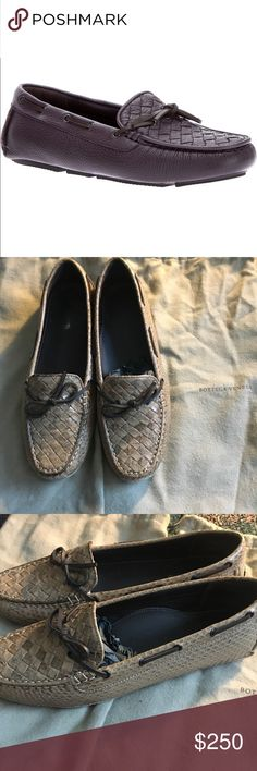 Bottega Veneta Braided loafers ✨ITEM IS NWT AND CANNOT BE BUNDLED✨ NWT AND NEVER WORN! MSRP $970!! Each shoe comes with its own individual dust bag along with the actual box and wrapping paper purchased in! These are SO SUPER comfortable! Not sure if I want to sell since I did pay $970 for them and they were never worn🌟Don't like the price??🤑SEND ME A OFFER👈🏼🤑 Bottega Veneta Shoes Flats & Loafers