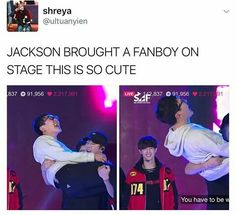 IDC WHO YOUR BIAS GROUP IS, BUT IF YOU SAY YOU DON'T STAN JACKSON YOU LYING