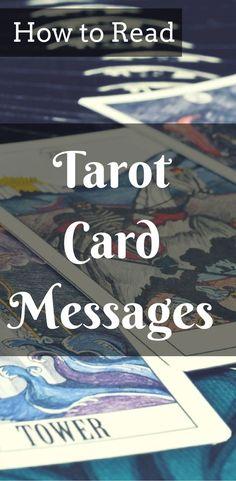Tarot reading for beginners. Learn how to read basic spreads. #tarotcardshowtoread #howtoreadtarotcards