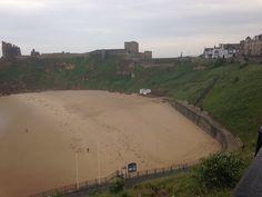 Tynemouth king Edwards bay beach 7.45 am 26 th of June 2015 www.tynemouthwebcam.com