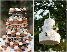 How about a Wedding Cake Pinata !!!  ok this cracked me up :)