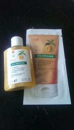 Klorane shampoo and conditioning balm