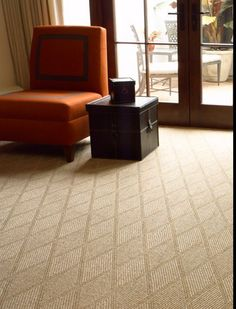 Lattice.  Made of 100% abaca.  This product can be installed wall to wall or made into an area rug with a choice of edge treatments.  Purchase at Hemphill's Rugs & Carpets Orange County, California www.RugsAndCarpets.com
