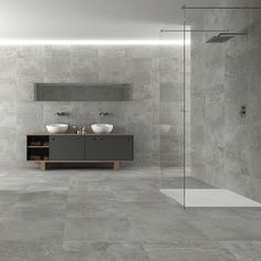 If you're investing in a contemporary wetroom, grey porcelain tiles are an ideal choice as you can use the same tile on the floor and walls for a modern and seamless finish. Description from porcelainsuperstore.co.uk. I searched for this on bing.com/images