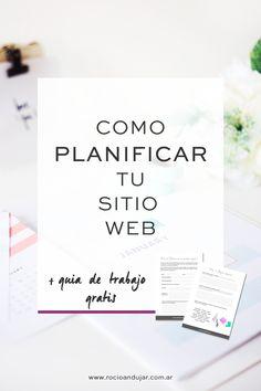 Cómo planificar tu sitio web + guía de trabajo