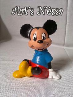 Art's Nêssa - Artesanato: Mickey pequeno sentado