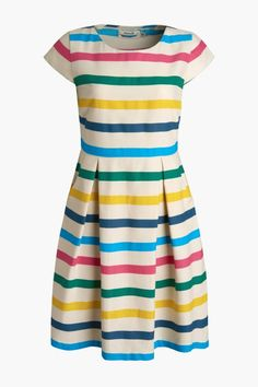 Rosina Dress in Manderley Stripe   Seasalt Cornwall