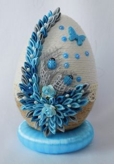 Tree Crafts, Snow Globes, Easter, Retro, Tableware, Amazing, Kitchen, Streamer Flowers, Bias Tape