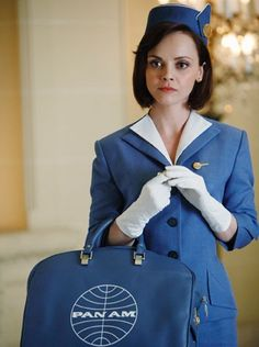 Always wanted to be a flight attendant.