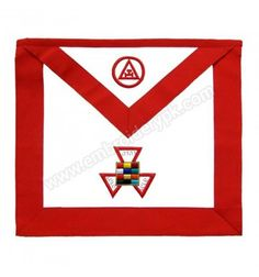 Royal Arch Past High Priest PHP Hand Embroidered Masonic Apron High Priest, Aprons, Sash, Symbols, Letters, Cards, Icons, Letter, Maps