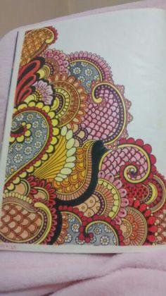 """Sexta ilustração de """"O livro anti-insônica"""" The Can't Sleep Colouring Book (Creative Colouring for Grown-Ups)"""