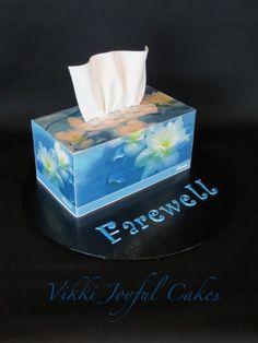 Farewell cake & photo tutorial