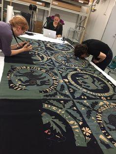 Kansallismuseo toteuttaa yhdessä historiallisten tekstiilien harrastajien kanssa…