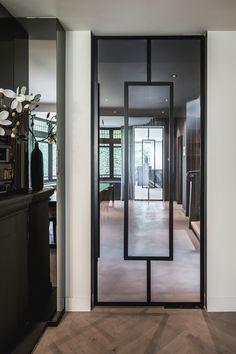 Door, design and realization by the architects and stylists of Kabaz. Glass Design, Door Design, House Design, Home Interior Design, Interior And Exterior, Unique Doors, Steel Doors, Internal Doors, New Homes