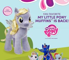 Derpy/Muffins Build-a-Bear Plush Back in Stock on Website