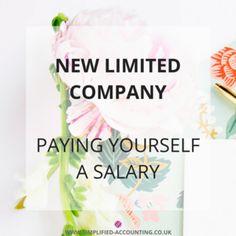 New Limited Company: 'How Do I Pay Myself?' Part 2 - Salary