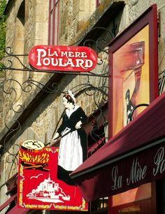 La Mere Poulard, Mont St. Michel, France