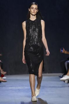 Narciso Rodriguez Fashion Show Ready to Wear Collection Spring Summer 2017 in New York