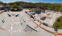 Woodward West Skatepark Tehachapi California Concrete Bowls
