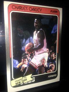 1988 Fleer 18 Charles Oakley Knicks #18 (18 out of 132) MINT #NewYorkKnicks