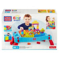 Mega Bloks Build 'N Learn Table available online at http://www.babycity.co.uk/
