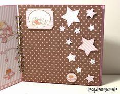 PopPerScraP: Álbum bebe Dayka niña Mini Album Scrapbook, Scrapbook Bebe, Baby Scrapbook Pages, Mini Albums, Memory Album, Mini Books, Baby Cards, Scrapbooking Layouts, Scrapbooks