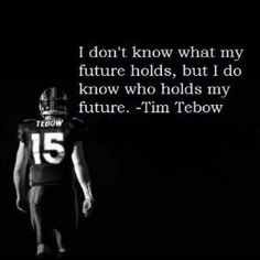 I would love to have the picture, that I have of Cooper like this blown up on a wall vinyl and use this quote from Tebow to put on Coops wall!