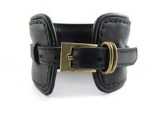 'The Pattie Smith Effect' | Unisex Leather Cuff by Republic of You