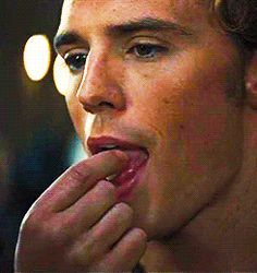 I need a sugar cube now. Actually NOT. I  need Finnick Odair now.